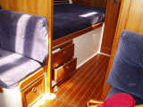 fwd cabin, drawers under berth