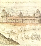 NONSUCH Palace, Surrey, England - 1538