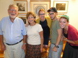 Rabbi and Ma Isaacs, Elan and Shani Nyer
