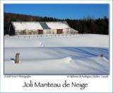 Joli Manteau de Neige