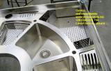 Piano cucina su misura in acciaio inox custom made