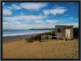 Surf lifesavers watch house - Inverloch low tide