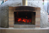 Home built pizza oven