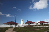 Lighthouse and accommodation