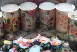 Rose coffee mugs