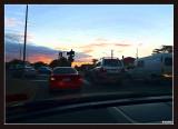 The drive homeward