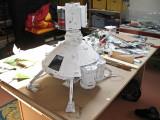 La construction du cargo spatial