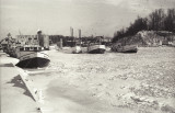 Port Dover Fishing Boats in ice - Southside, Aletha B and H H Misner