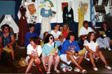 Kay Burns(Blue), Debbie Hurst (B/W top), Rick DeRuiter (White shirt), Freda Ballyns (to his left).Sue Dickout (front right)