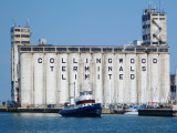 Prescotont in front of the Collingwood Terminals -2012