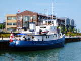 Prescotont tied up in the Shipyards Side Launch Basin - 2012