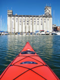 Kayaking to the Collingwood Terminals - Aug. 6, 2012