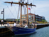 Playfair arrives at the Collingwood Shipyards Launch Basin - Aug 8, 2012