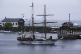 Pathfinder arrives in Collingwood Harbour - Aug 2012