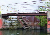 Stairs to ? in the old Collingwood Shipyards Dry Dock - Aug, 2012