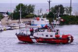 Coast Guard Vessel Cape Providence in Collingwood Harbour - Aug, 2012