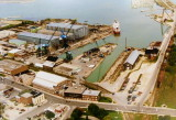 Aerial View of the Collingwood Shipyards - Archival image