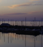 Collingwood Yacht Club in the Evening