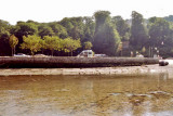 Looe car park, from the River Looe.