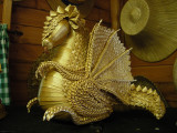 Lituanian Dragon, Museum of Straw Work and Crafts, Norfolk, England