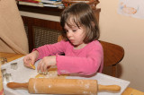 Already a master in cookie-making