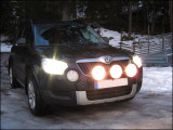 Auxiliary lamps mounted