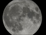 Perigee moon aka super full moon