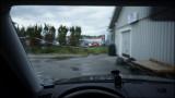 Cracked windshield...