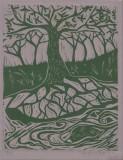 WATERS RUNNIN TREE 8.5x11