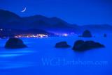 Canon Beach Ethereal Moonlight