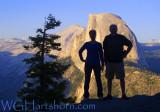Half Dome Silhouette
