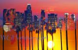 Palms 2 L A @ Sunset