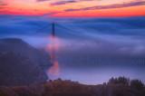 Golden Gate Sunrise Fog