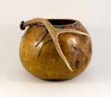 Kettle Gourd with Antler
