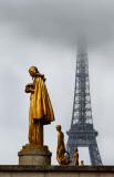 Tour Eiffel, view from Palais de Chaillot