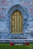 Bok Tower golden door