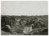 Sommerselskab på spadseretur ca. 1908