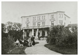 Ved Hotel Helligdommen ca. 1908