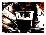 The same man and the same coffee
