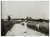 Hjemmet i Allinge set fra Himmelvejen  1909