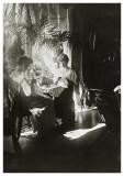 Dorthea og Bodil i Allinge 1908