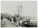 Allinge havn ca. 1909
