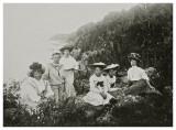 Sommergruppebillede ca. 1908