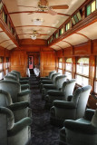The parlor and dining car.