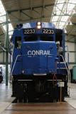 A Conrail diesel.