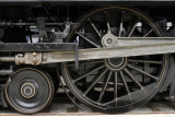 A driver wheel on the 4-4-2