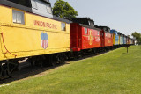 Don't forget the Red Caboose motel.  Fun for the family to overnight.