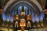 Inside Montreal's Notre Dame Basilica