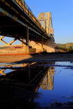 Pittsburgh Bridge reflection