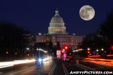 Moonrise in Washington